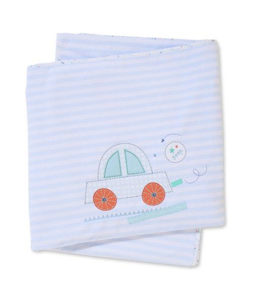 Mothercare Little Beep Beep Fleece Blanket