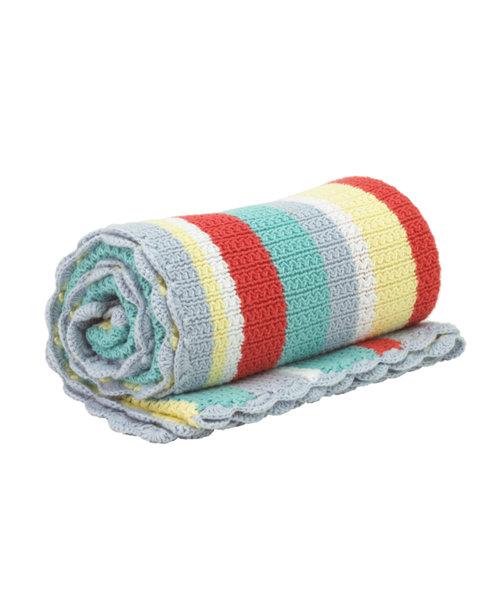 Mothercare Patchwork Garden Knit Blanket