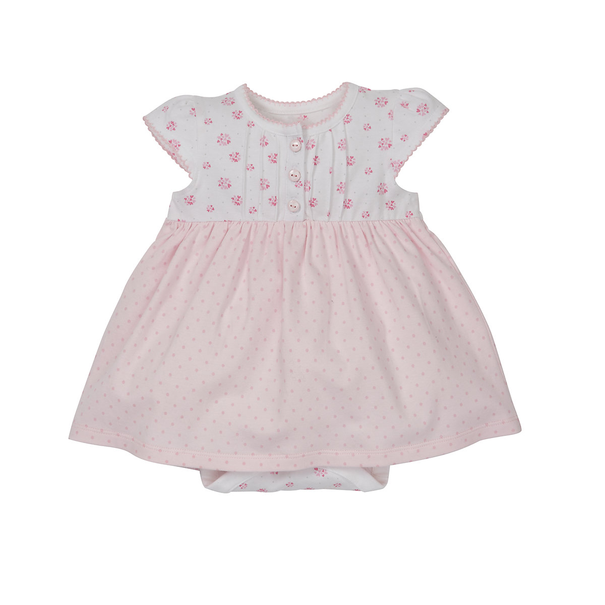 Mothercare Jersey Floral Romper Dress