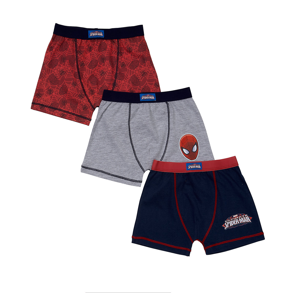 Spideman Trunks - 3 Pack