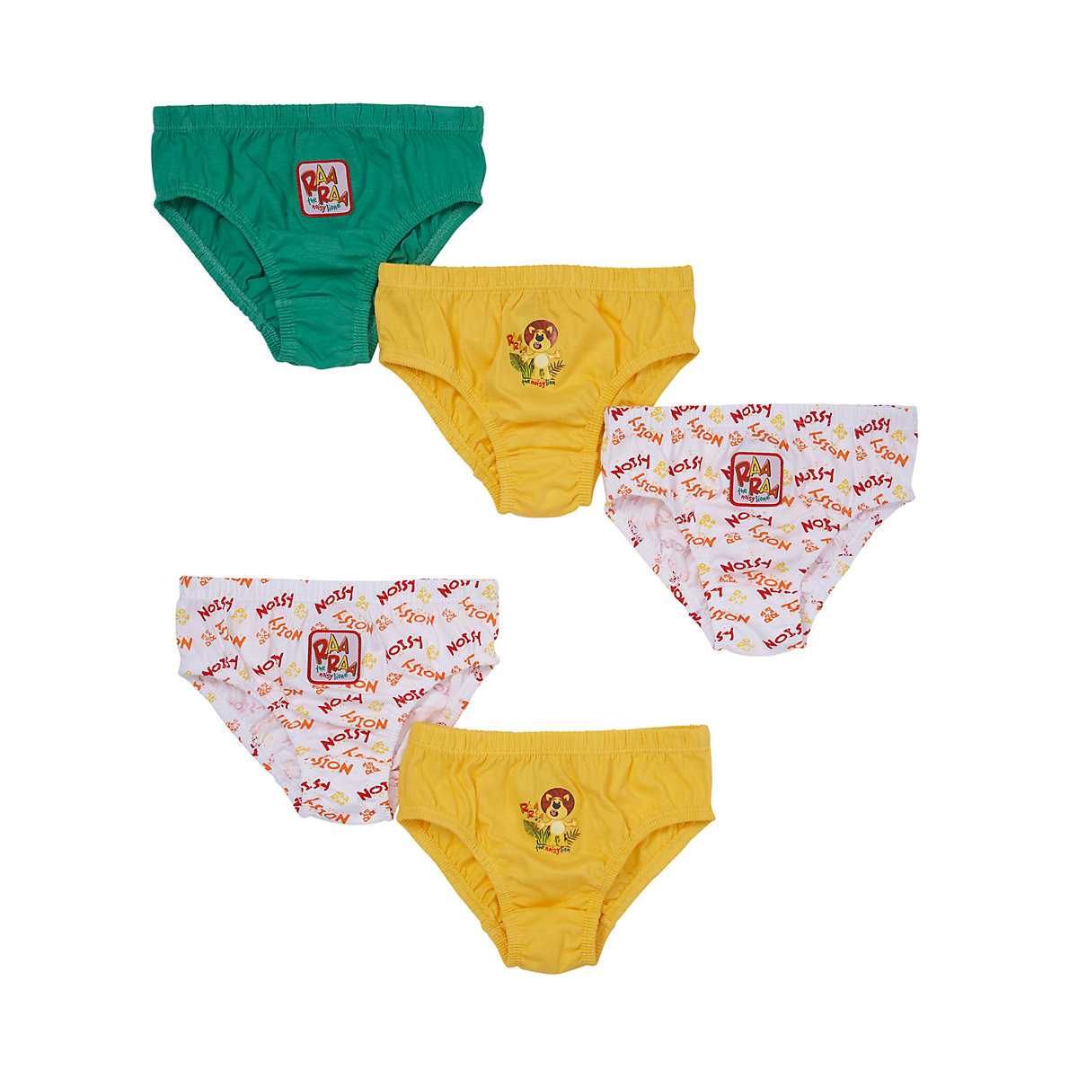 Raa Raa The Noisy Lion Briefs - 5 Pack - Lion Gifts