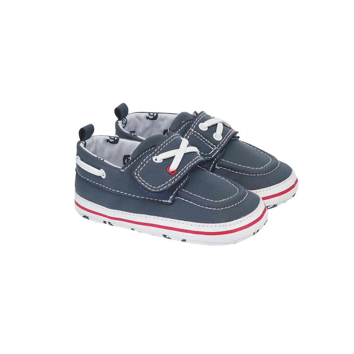 Mothercare Navy Boat Shoes