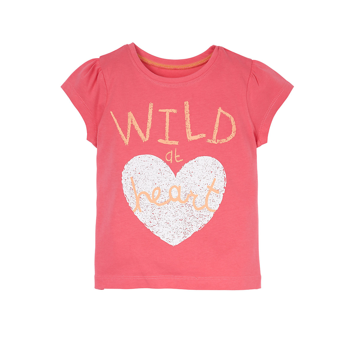 Mothercare Young Girls Wild At Heart T Shirt Ebay