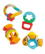 Mothercare 4 Piece Rattle Gift Set