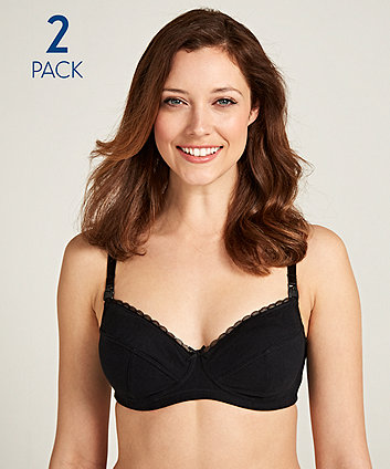 Maternity Core Nursing Bra - 2 Pack (Size - 36B)