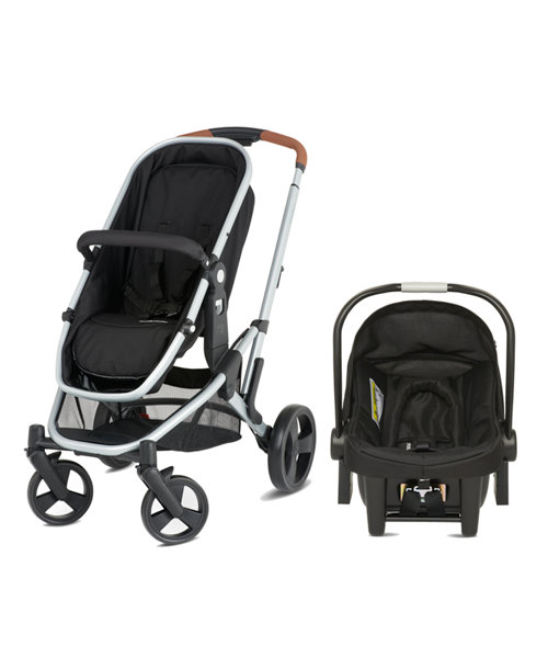 Mothercare Xpedior Four Wheel Base Pack - Leatherette Handle