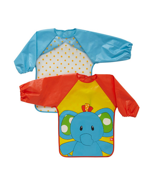 Mothercare Safari Coveralls - 2 Pack