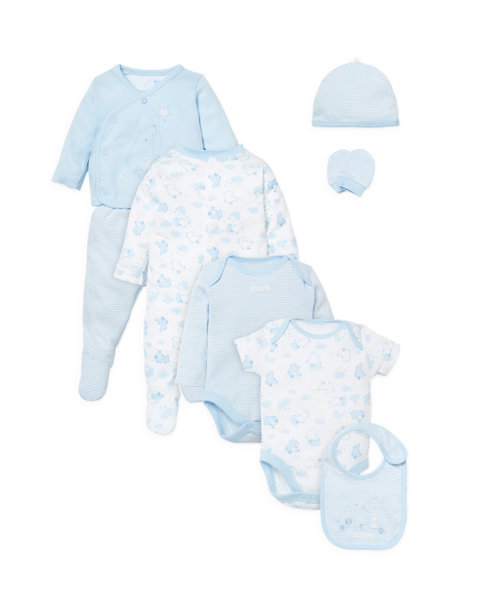 Eight Piece Gift Set - Blue