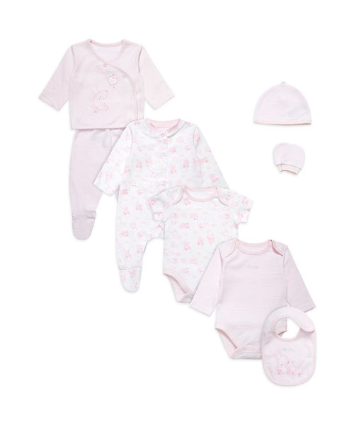 Eight Piece Gift Set - Pink