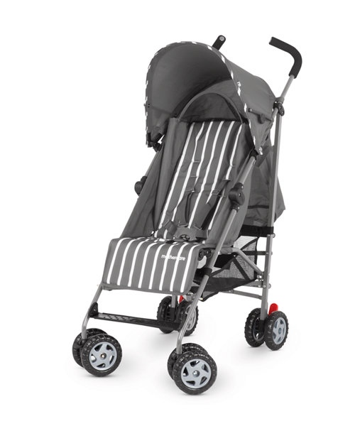 Mothercare Nanu Stoller- Grey Stripe