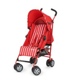 Mothercare Nanu Stroller - Red Stripe