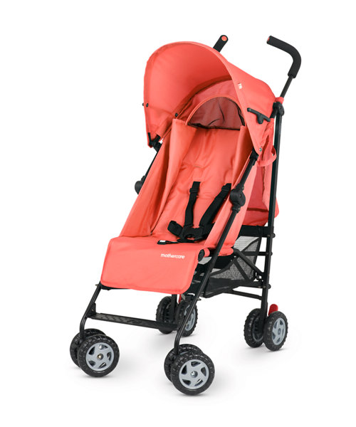 Mothercare Nanu Stroller - Coral