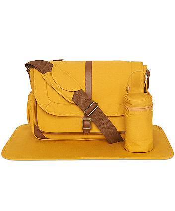 Mothercare Messenger Changing Bag - Mustard