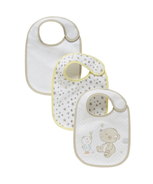 Mothercare Bear and Friends Bibs - 3 Pack