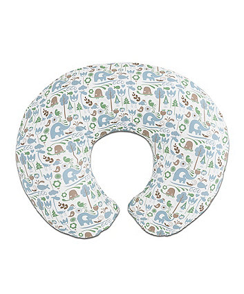 Boppy Feeding Pillow - Blue *Exclusive To Mothercare*