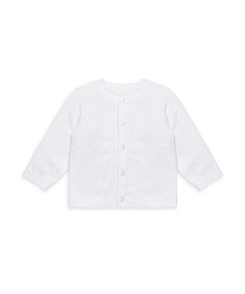 My First Cardigan - White
