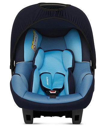 Mothercare Ziba Baby Car Seat - Blue 2 Tone