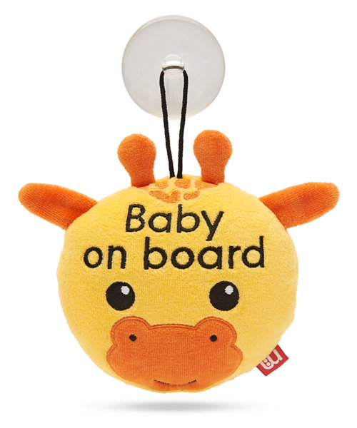 Mothercare Giraffe Baby On Board Sign