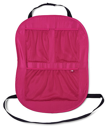 Mothercare Pink Car Seat Protector and Storage