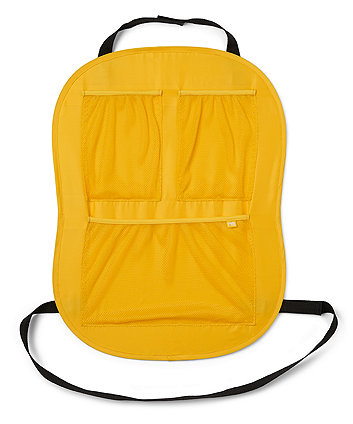 Mothercare Yellow Car Seat Protector and Storage