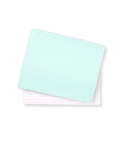 Mothercare Butterfly Fields Fitted Cot Sheets - 2 Pack