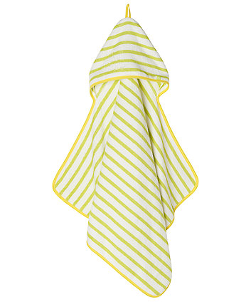 Mothercare Extra Large Hooded Bath Towel - Green