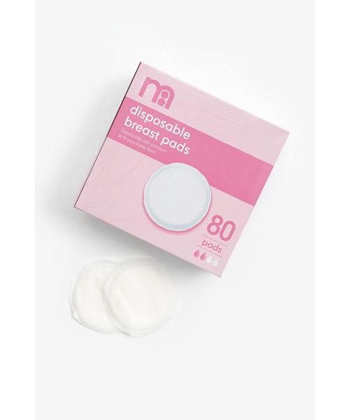 Mothercare Disposable Breast Pads - 80 Pack