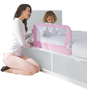 Mothercare Safest Start Bed Guard - Pink