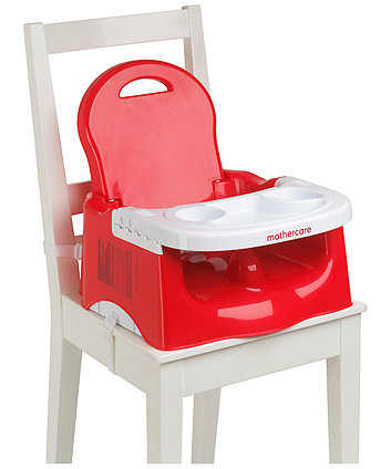 Mothercare Creative Booster with Tray- Red (Preorder: ETA last week of Dec)