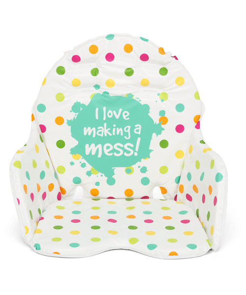 Mothercare Making A Mess Highchair Cushion