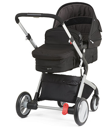 Mothercare Roam Travel System - Black