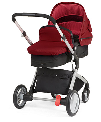 Mothercare Roam Travel System - Red