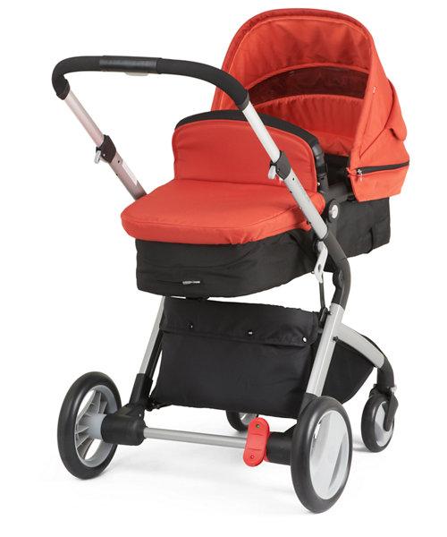 Mothercare Roam Travel System - Orange