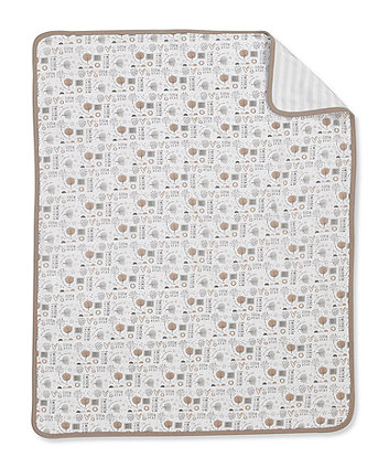 Mothercare Bedtime Wish Jersey Blanket