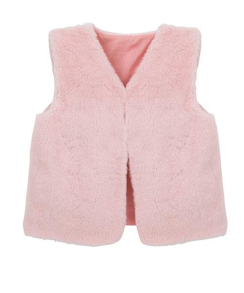 Pink Fur Gilet