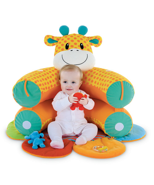 Mothercare Safari Sit Me Up Cosy - Giraffe