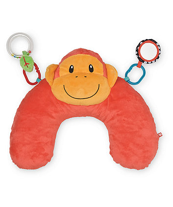 Mothercare Baby Safari Tummy Time Cushion - Monkey