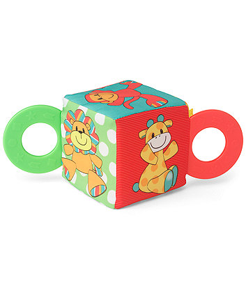 Mothercare Baby Safari Teether Cube