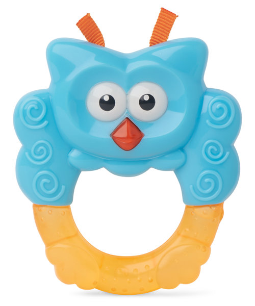 Mothercare Owl Teether Rattle