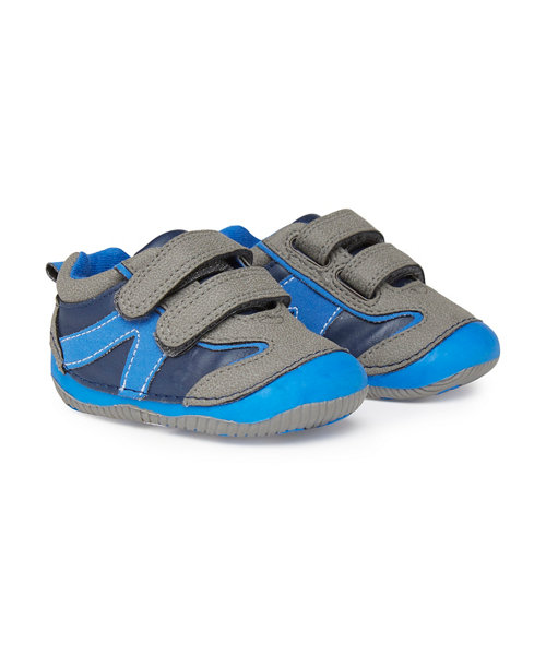 Mothercare Blue and Grey Crawlers