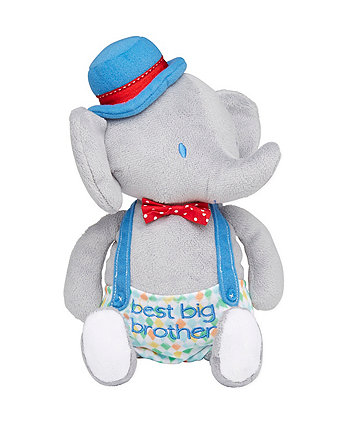 Mothercare Roll Up Roll Up Big Brother Elephant Plush