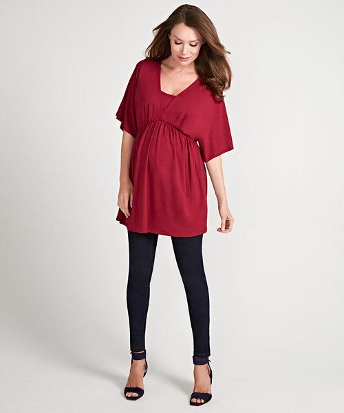 Indigo Skinny Maternity Jeans