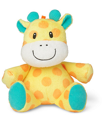 Mothercare Baby Safari Soft Toy - Giraffe
