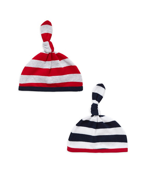 Boys Mummy and Daddy Hats - 2 Pack