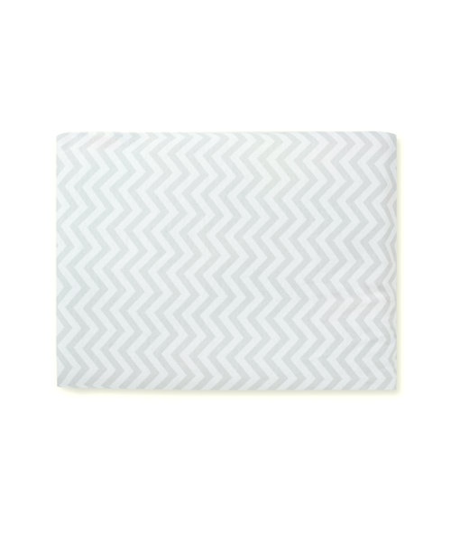 Mothercare Jersey Fitted Cot Bed Sheets - Chevron