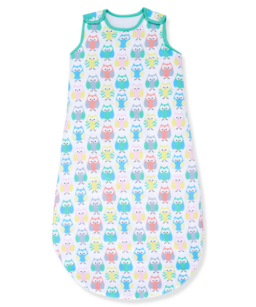 Mothercare Owls Sleeping Bag 1 Tog - 0-6 months