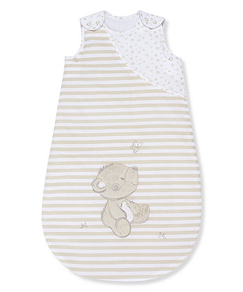 Mothercare Bear and Friends Sleeping Bag 0-6 month - 1 Tog