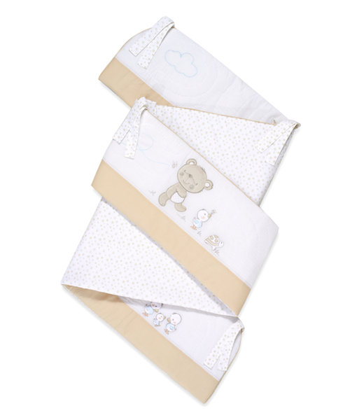 Mothercare Bedtime Wish Long Cot Bumper