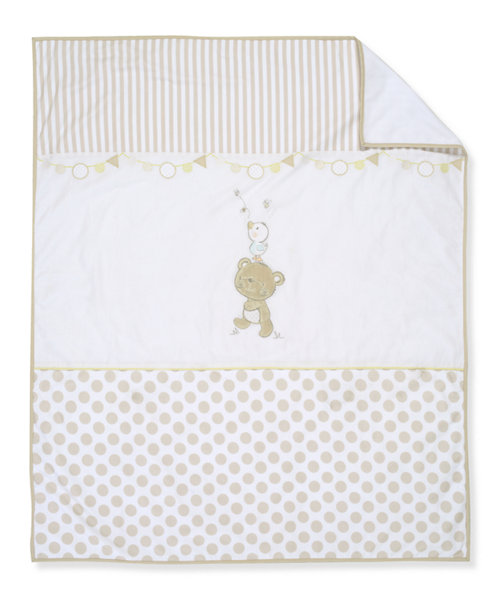 Mothercare Cuddle Bear Coverlet