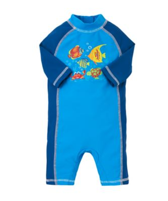 Baby Boy s Fish Print Sunsafe